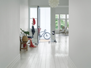 How to Paint Solid Hardwood Floors